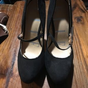 Elle Black heels. Size 10